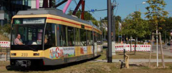 Operational simulation Karlsruhe tramtrain
