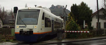 Optimisation of public transport services on the Münstertalbahn