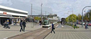 Extension of the tram Strasbourg - Kehl